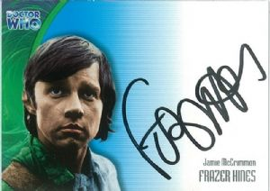 Doctor Who FRAZER HINES as Jamie McCrimmon AUTOGRAPH CARD AU16, Strictly Ink -  10646